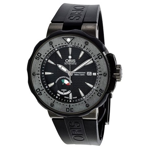 オリス 腕時計 プロダイバー 667-7645-7284set ブラック×ブラック