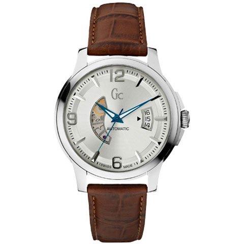 Gc 時計 クラシックコレクション オートマチック X84004G1S シルバー×ブラウン
