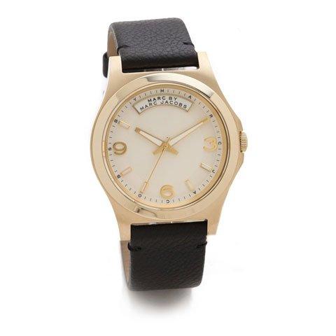 マークバイマークジェイコブス 腕時計 メンズ ベイビーデイブ MBM1264 ゴールド×ブラック