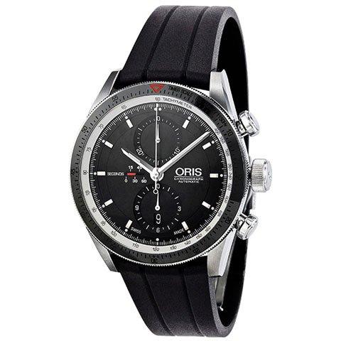 オリス 腕時計 アーティックス GT 674-7661-4154RS ブラック×ブラック