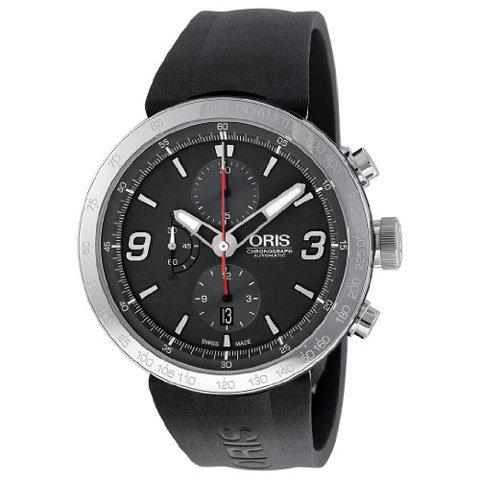 オリス 腕時計 TT1 01 674 7659 4163 07 4 25 06 グレー×ブラック