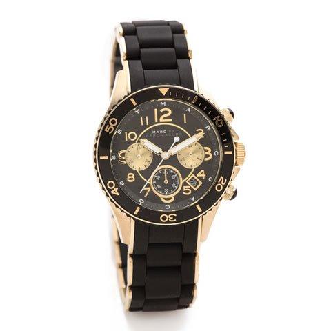 マークバイマークジェイコブス 腕時計 レディース ロック MBM2598 ブラック×ゴールド