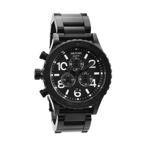 ニクソン 腕時計 42-20  クロノグラフ A037-001 オールブラック