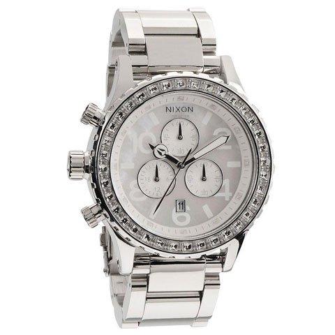 ニクソン 腕時計 42-20  クロノグラフ A037710 ホワイトシェル×シルバー