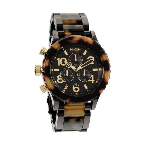 ニクソン 腕時計 42-20  クロノグラフ A037-679 ブラック×ツートン