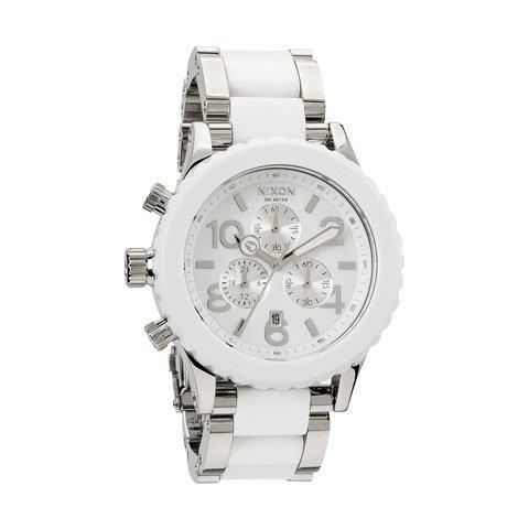 ニクソン 腕時計 42-20 クロノグラフ A037-898 ホワイト×ツートン