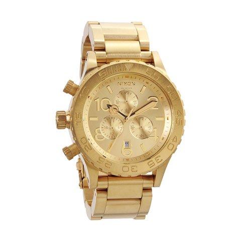 ニクソン 腕時計 42-20  クロノグラフ A037-502 オールゴールド