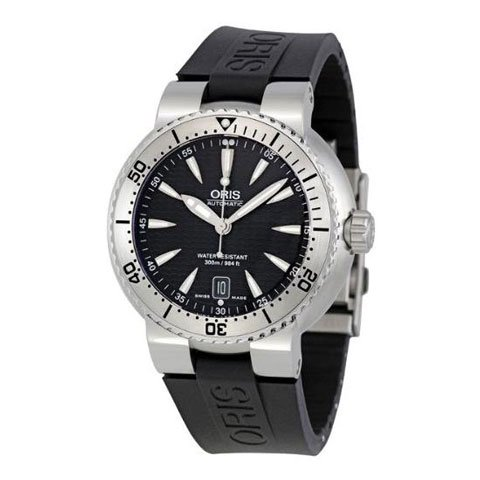 オリス  腕時計 ダイバーズ 733-7533-4154RS ブラック×ブラック