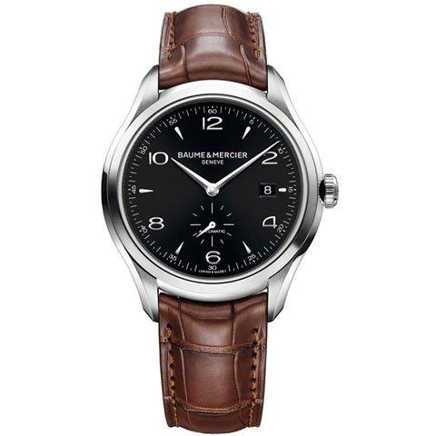 ボーム&メルシエ 腕時計 クリフトン M0A10053 オートマティック  ブラック×ブラウン