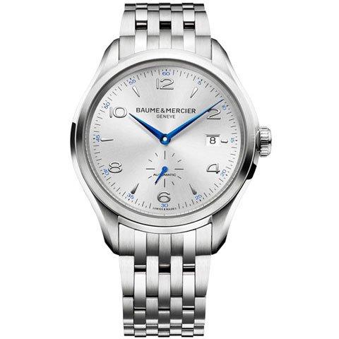 ボーム&メルシエ  腕時計 クリフトン M0A10099 オートマティック シルバ−