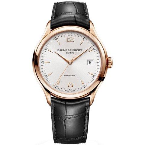 ボーム&メルシエ 腕時計 クリフトン レッドゴールド MOA10058 ゴールド×ブラック