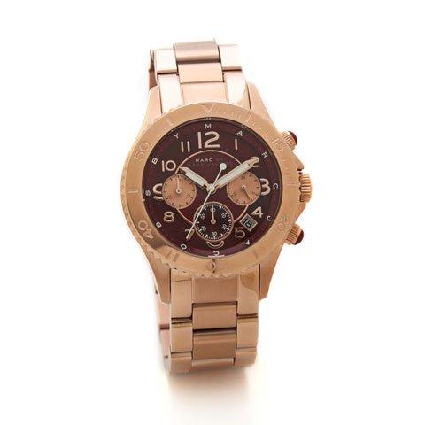 マークバイマークジェイコブス 腕時計 レディース ロック MBM3251 ローズゴールド×ディープマルーン