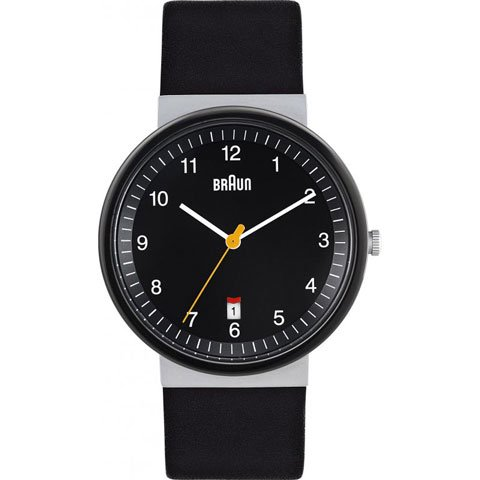 ブラウン|Braun 時計/BN0032BKSLBKG/ブラック×ブラックレザーベルト