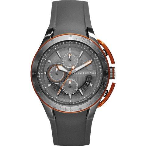 アルマーニエクスチェンジ/Armani Exchange/腕時計/メンズ/クロノグラフ/AX1402/グレー×グレーラバーストラップ