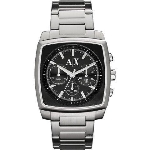 アルマーニエクスチェンジ/Armani Exchange/腕時計/メンズ/クロノグラフ/AX2253/ブラック×ステンレススチールベルト