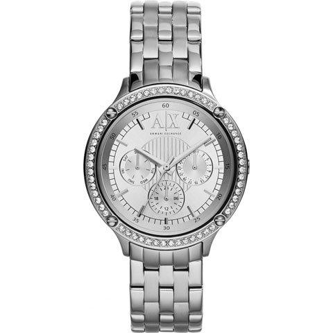 アルマーニエクスチェンジ 腕時計 レディース  AX5401 ホワイト×シルバー