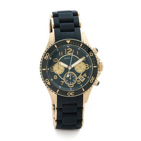 マークバイマークジェイコブス 腕時計 レディース ロック MBM2597 ゴールド×グリーン