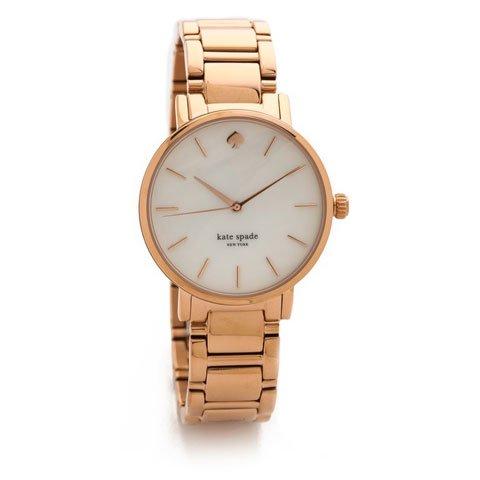 ケイトスペード 腕時計 1YRU0003 グラマシー ホワイトパール×ローズゴールド
