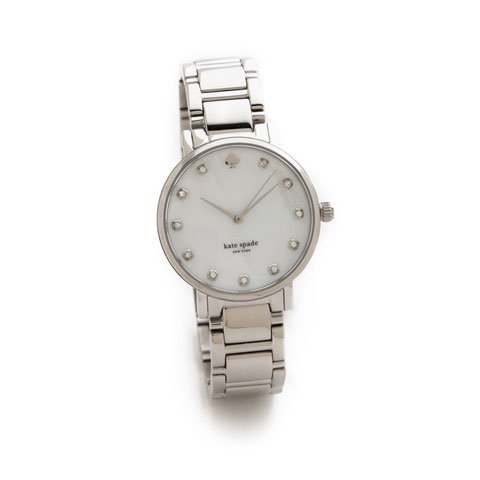 ケイトスペード 腕時計 1YRU0006 グラマシー ホワイトパール×シルバー