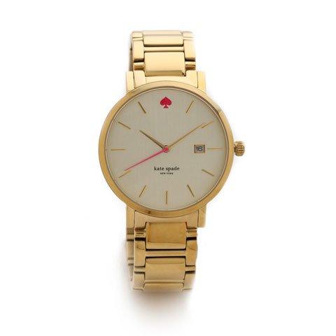 ケイトスペード  腕時計 1YRU0009 グラマシー ホワイト×ゴールド