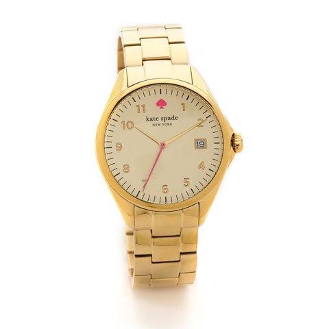 ケイトスペード 腕時計 1YRU0030 シーポート ゴールド