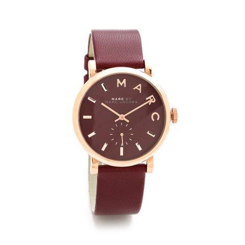 マークバイマークジェイコブス 腕時計 レディース ベイカー MBM1267 ローズゴールド×マルーン
