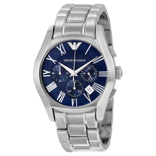 エンポリオアルマーニ/Emporio Armani/腕時計/バレンテ/AR1635/ブルー×シルバー