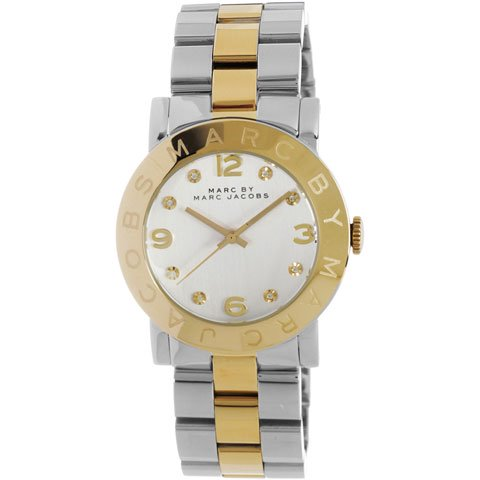 マークバイマークジェイコブス 腕時計 レディース エイミー MBM3139 シルバー×ゴールド
