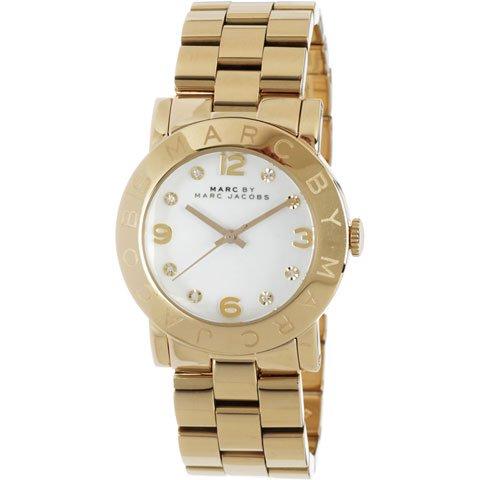 マークバイマークジェイコブス 腕時計 レディース エイミー MBM3056 ホワイト×ゴールド