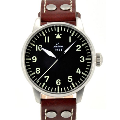 ラコ 腕時計 国内正規品 アウクスブルク 自動巻 861688 ブラウンカーフレザーベルト
