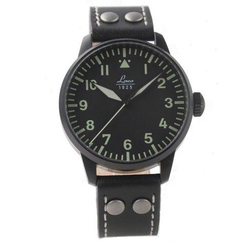 ラコ 腕時計 国内正規品 アルテンブルグ 自動巻 861759 ブラックカーフレザーベルト