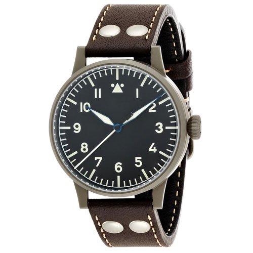 ラコ 腕時計 国内正規品 ミュンスター LACO24系自動巻 861748 ブラウンカーフレザーベルト