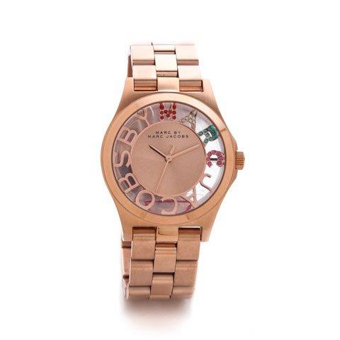 マークバイマークジェイコブス 腕時計 レディース ヘンリースケルトン MBM3264 ローズゴールド