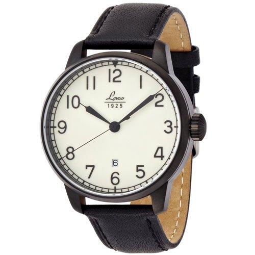 ラコ 腕時計 国内正規品 カサブランカ 自動巻 861776 ブラックカーフレザーベルト