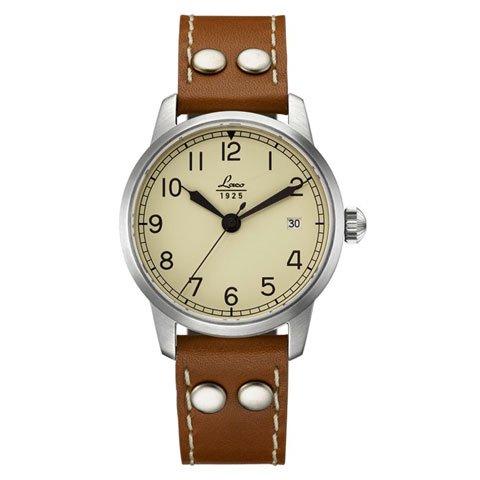ラコ 腕時計 国内正規品 マドリード 自動巻 861802 ブラウンカーフレザーベルト