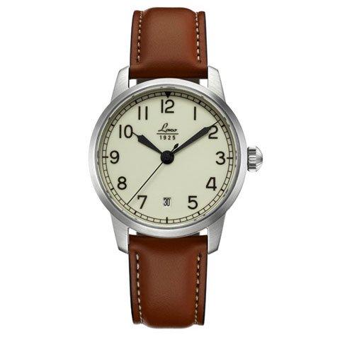 ラコ 腕時計 国内正規品 ドーヴィル 自動巻 861803 ブラウンカーフレザーベルト