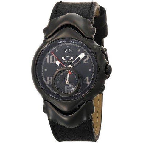 オークリー 腕時計 ジャッジⅡ 10-263 ブラック×ブラックレザーベルト
