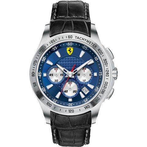 スクーデリア・フェラーリ 腕時計 スクーデリア 0830041 ネイビーブルー×ブラック