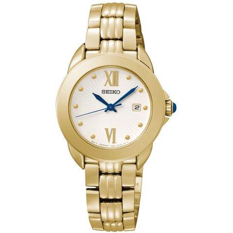 セイコー 逆輸入 レディース腕時計 SXDF64P1 ホワイト×ゴールド