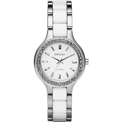 ダナキャランニューヨーク 腕時計 レディース NY8139 ブロードウェイ ホワイト×ホワイトセラミック