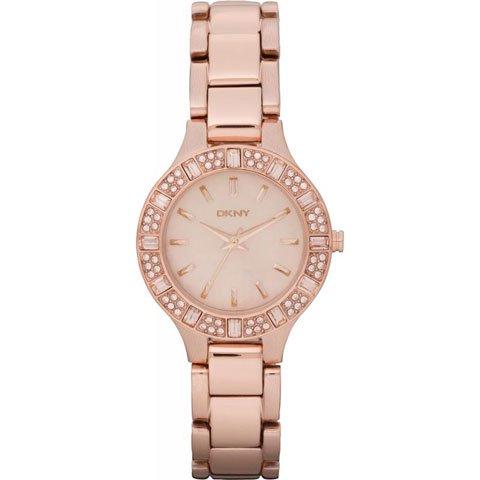 ダナキャランニューヨーク 腕時計 NY8486 ローズゴールド