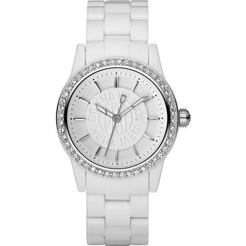ダナキャランニューヨーク 腕時計  レディース NY8011 ホワイトポリカーボネート