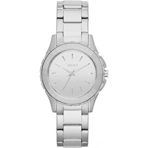 ダナキャランニューヨーク 腕時計 レディース NY2115 ブロードウェイ シルバー