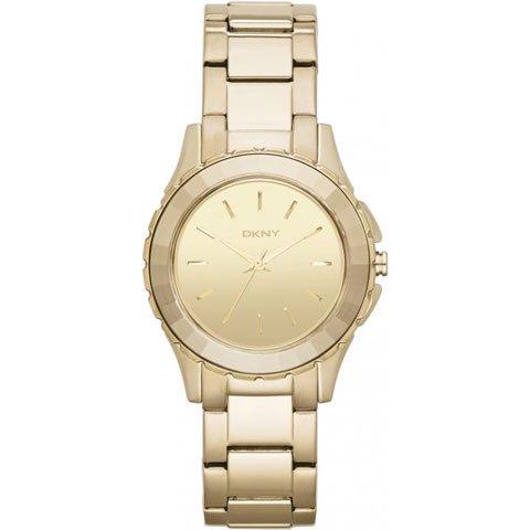 ダナキャランニューヨーク 腕時計 レディース NY2116 ブロードウェイ ゴールド