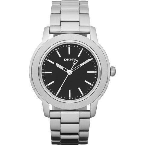 DKNY 腕時計 メンズ NY1502 ブラック×シルバー