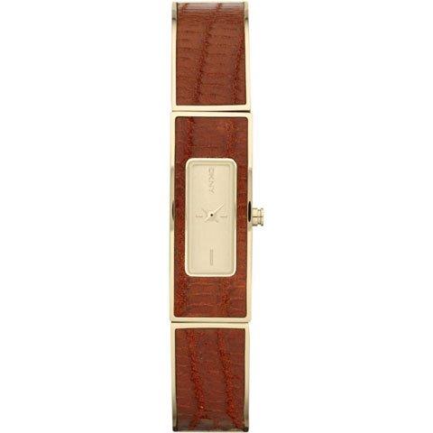 ダナキャランニューヨーク 腕時計 レディース NY8882 アストリア ゴールド×レッド