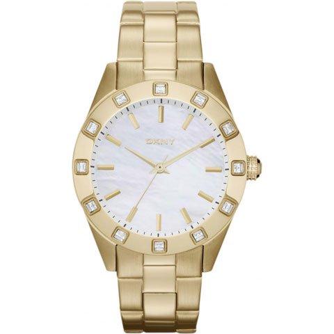DKNY 腕時計 レディース ノリータ NY8661 マザーオブパール×ゴールド