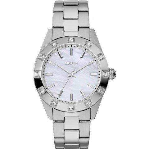 DKNY 腕時計 レディース ノリータ NY8660 マザーオブパール×シルバー