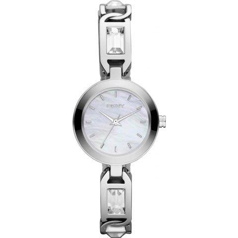 DKNY 腕時計 レディース NY8617 マザーオブパール×クリスタル