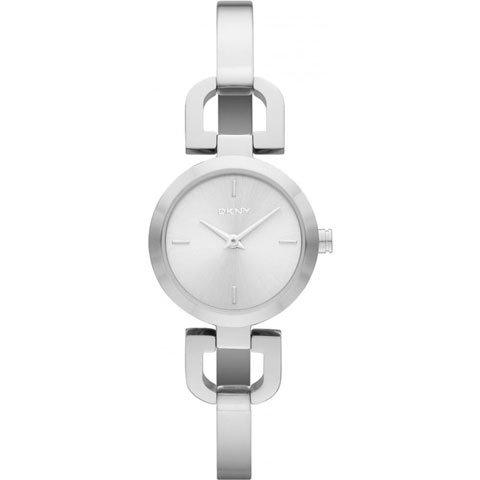 DKNY 腕時計 レディース NY8540 ホワイト×シルバー